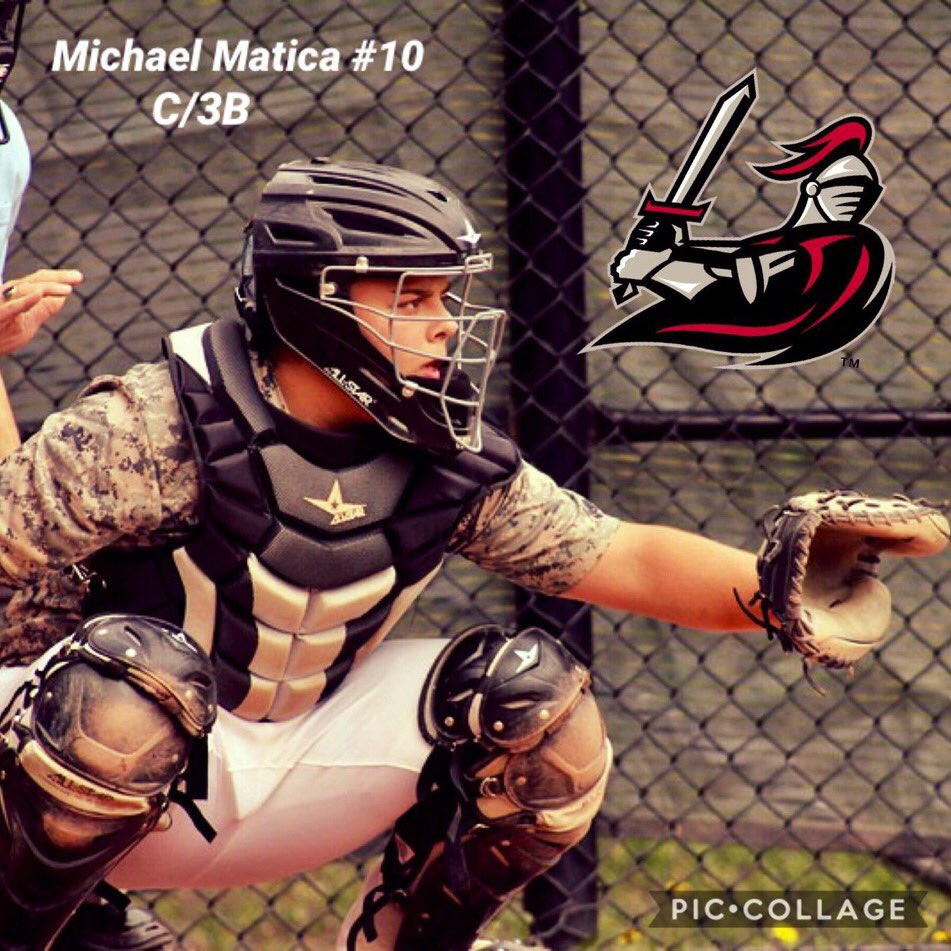 Pleasantville HS senior catcher @mmatica100 makes it official with Manhattanville College today #GoValiants @ShrubOak1080 @baseball_pville – at Manhattanville College