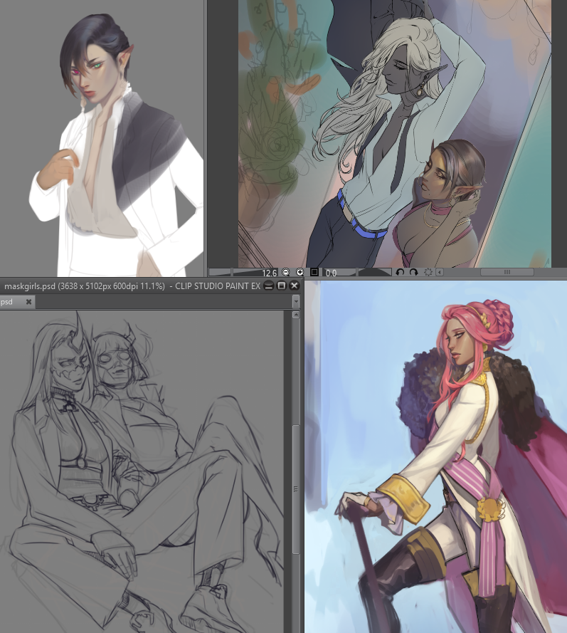 RT @noa89: my noble phantasm, unlimited sketch works: the infinite creation of WIPs https://t.co/Zg9sUFoR02