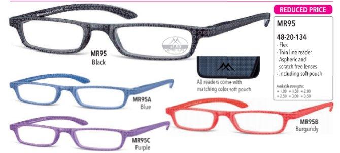 550a89616f Stay classy and modern με το νέο σχέδιο γυαλιών πρεσβυωπίας από την Montana  σε στενή γραμμή