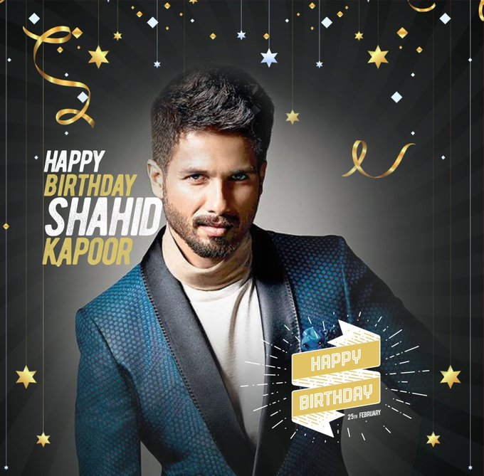 SITI wishes Shahid Kapoor a very happy birthday!