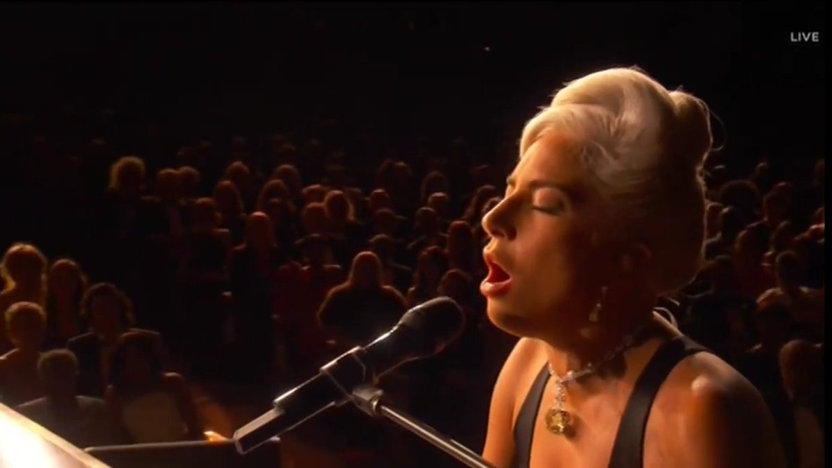 Lady Gaga & Bradley Cooper- Shallow HD - Live at the #Oscars 2019