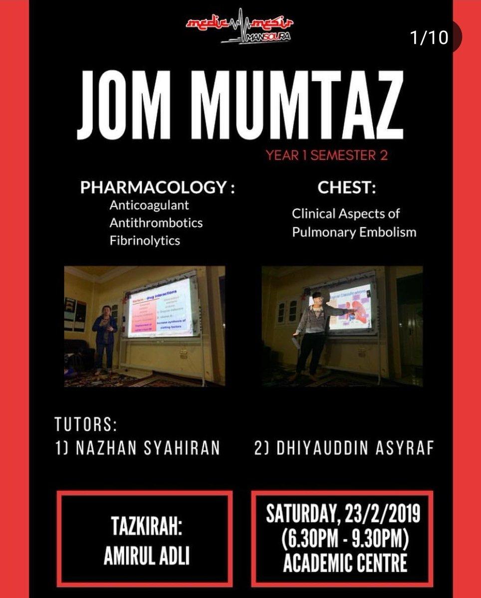 Medic Mesir Official On Twitter Medicmesir Mansoura Kehadiran Gambar Jom Mumtaz 1st Year Medic Jm Week 2 23 2 2019