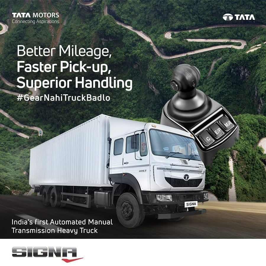 The Tata Signa 2818.T is a next generation heavy truck that gives unparalleled mileage, acceleration and performance thanks to the advanced Automated Manual ...