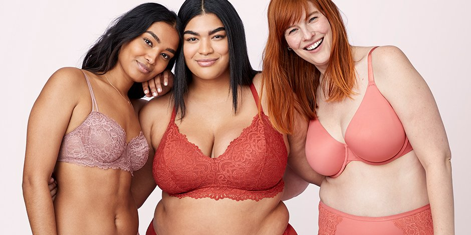 38fa806bf Finding the perfect bra for all shapes and sizes—and all for under  22!