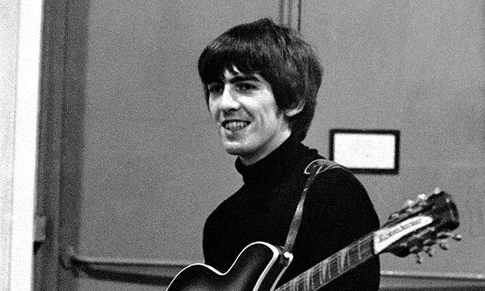 Happy Birthday George Harrison. RIP lad x