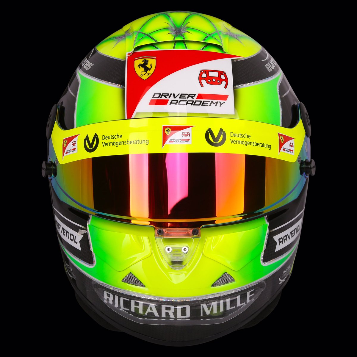 In Pictures Mick Schumacher S Helmet For 2019