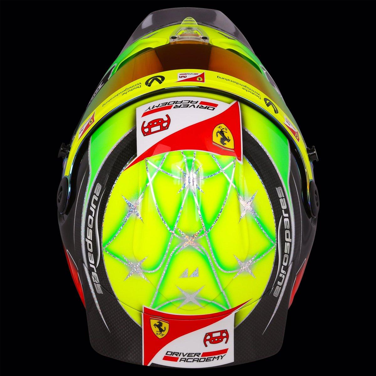 In Pictures Mick Schumacher S Helmet For 2019