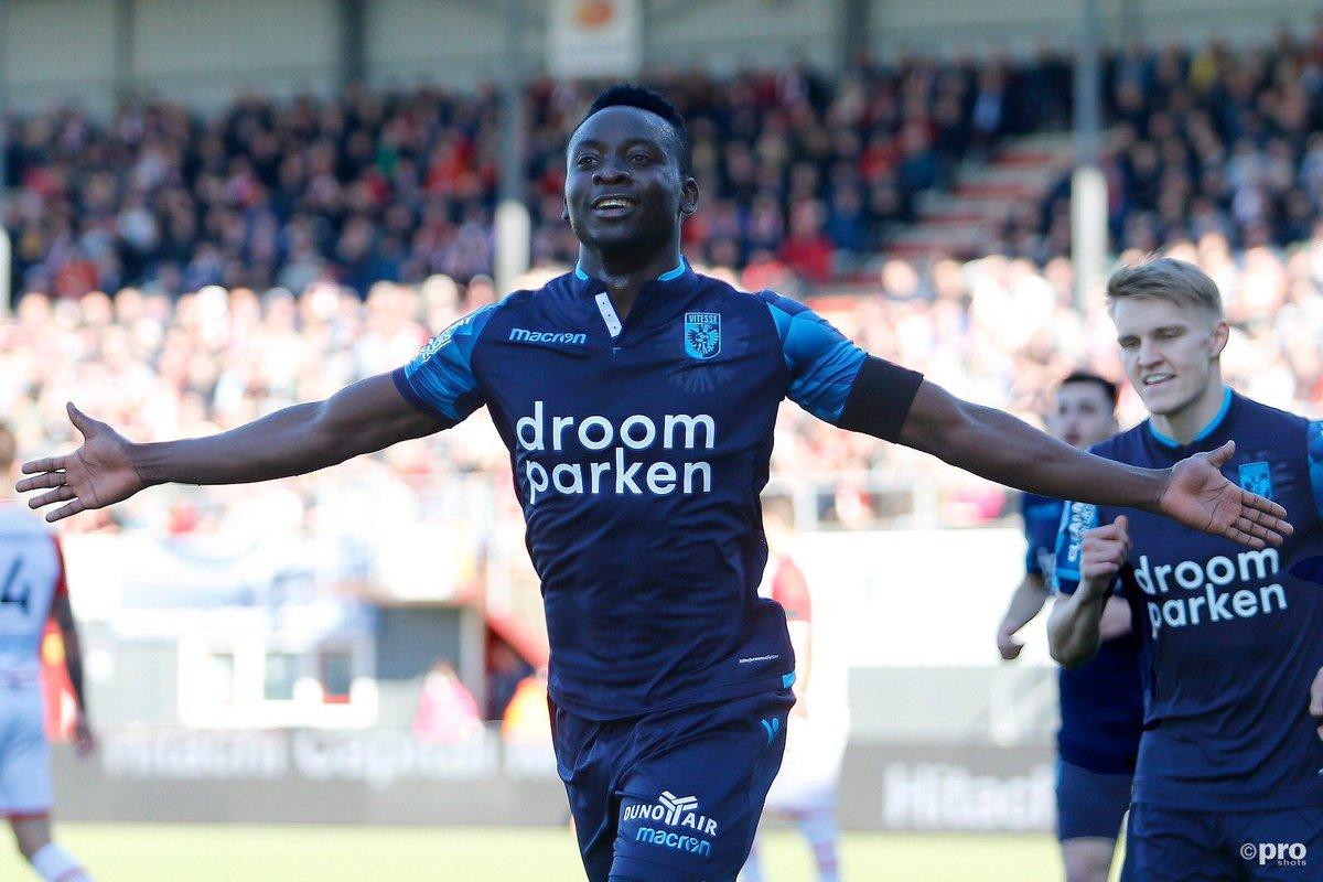 Ghanaian striker Dauda Mohammed delighted to get first Vitesse goal