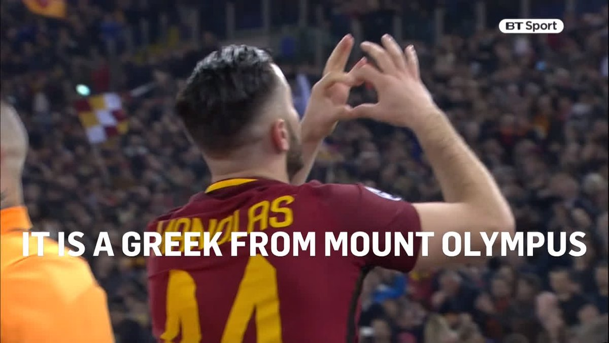 """ROMA won three #Oscars but this deserved one too.  Category, Best Commentary: Peter Drury, Roma 3-0 Barcelona  """"Rome have risen from their ruins! Manolas the Greek God in Rome!""""  """"This was not meant to happen. This could not happen. It. Is. Happening!"""""""