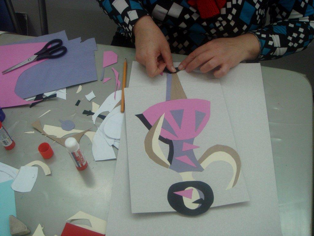 Розы красивая, мастер-класс по созданию открытки в музее