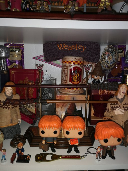 Happy birthday et  Team Weasley for ever