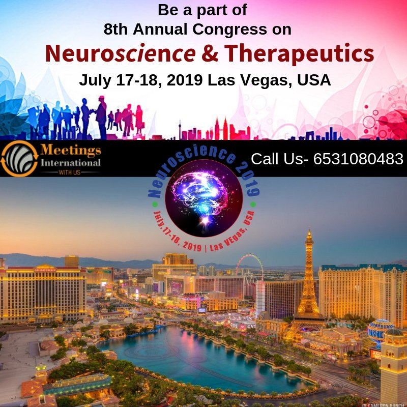 Share Your Idea For The World From at Las_Vegas, USA. NEUROSCIENCE 2019 WELCOMES EVERYONE TO SHARE THEIR VISION..#Las_Vegas CALLING U... #Neuroscience #Therapeutics #Annual_Congress C: https://goo.gl/T8HHbb  Share Your Idea For The World From at Las_Vegas, USA.pic.twitter.com/TL9eZSSWfo