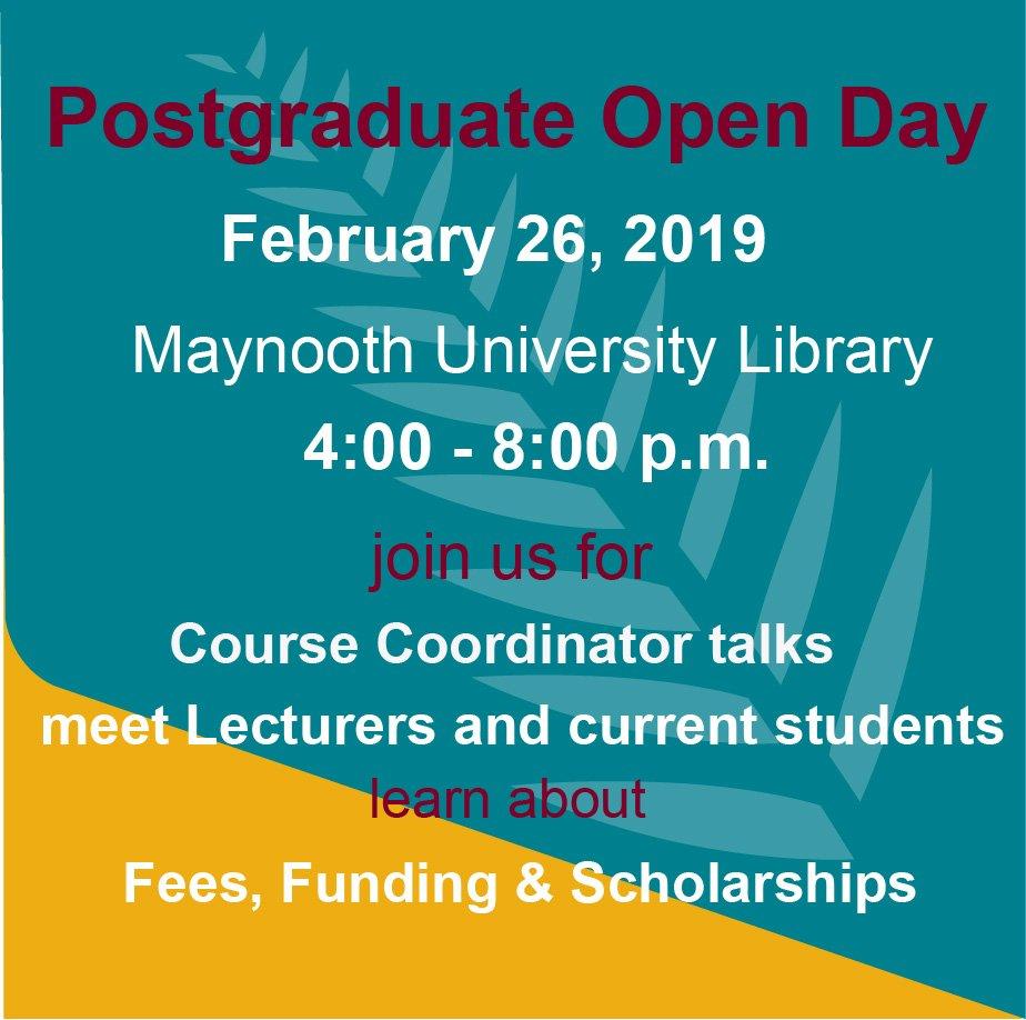 @MU_Education  #maynooth  #postgrad #PhD Doctor of Education/Master of Education/Professional Master of Education