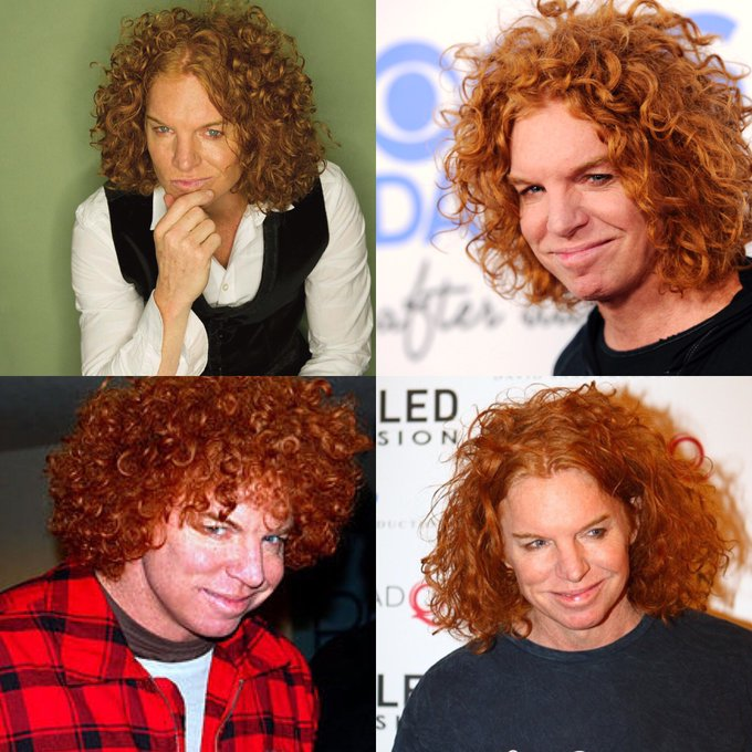 Happy 54 birthday to Carrot Top . Hope that he has a wonderful birthday.