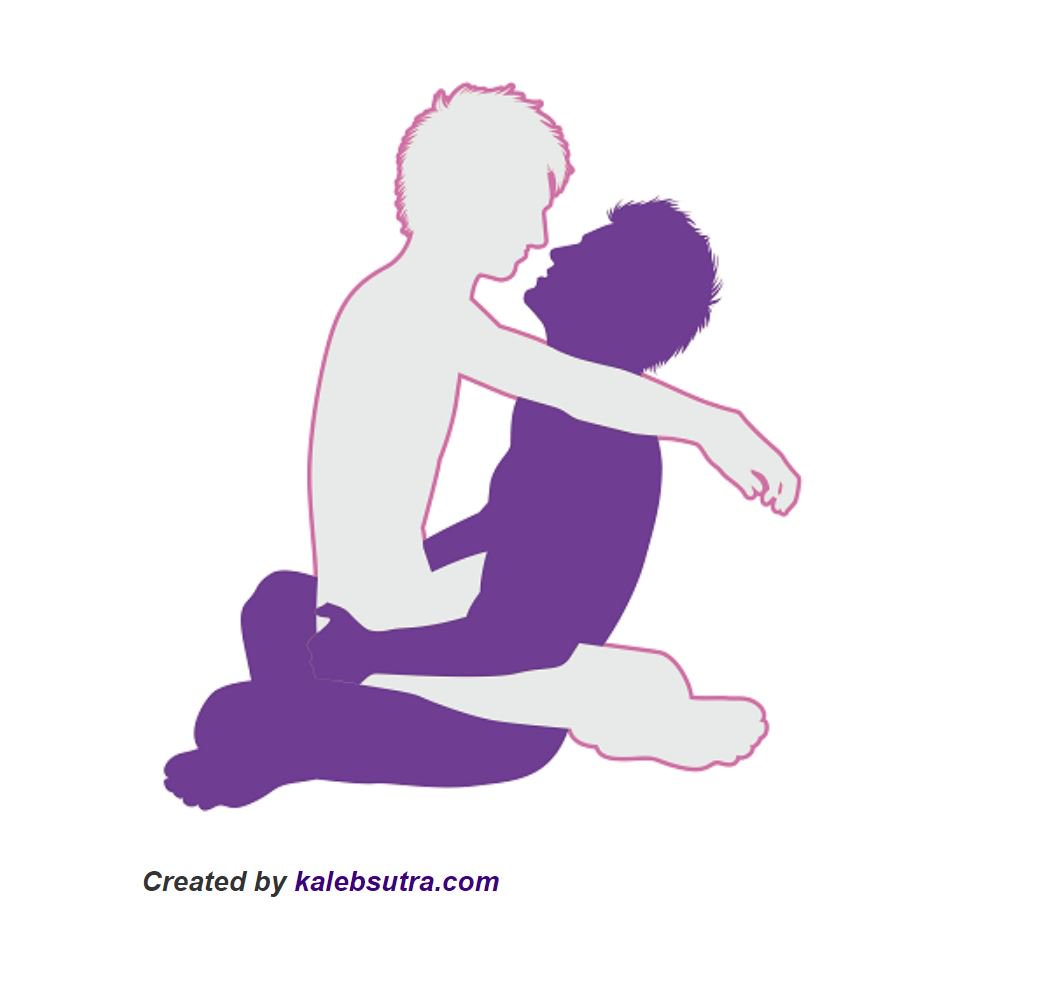 Sex position of the week is The Cradle. It is an anal sex position that