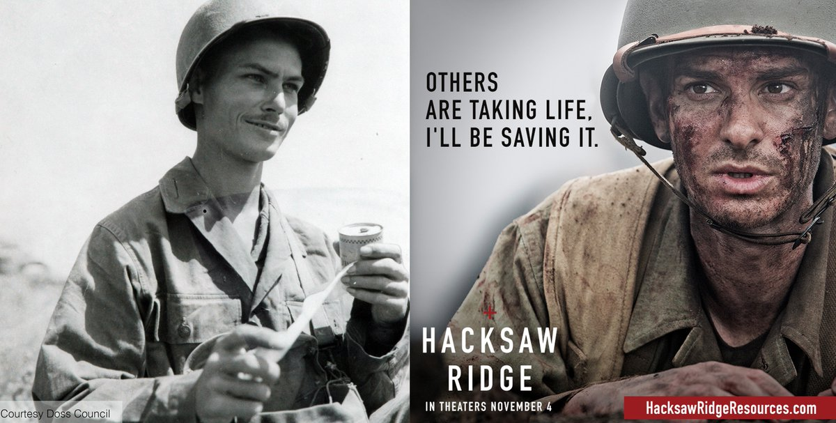Desmond Doss On Twitter No Andrew Garfield Didn T Win The Oscar For Best Actor In Hacksaw Ridge But He Deserved A Win He Absolutely Nailed Everything About Desmond Doss The Accent