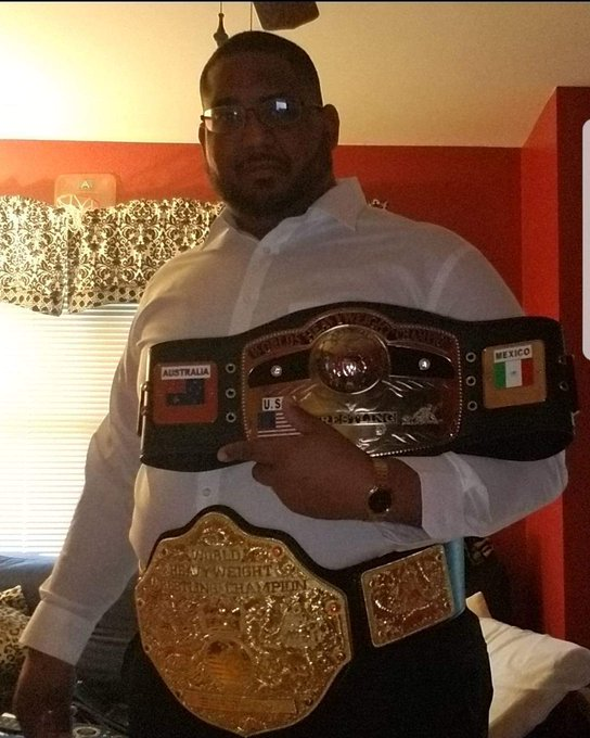 In honor of Ric Flair happy birthday  (psi I know it\s not a Rolex but my belts are real..lol)