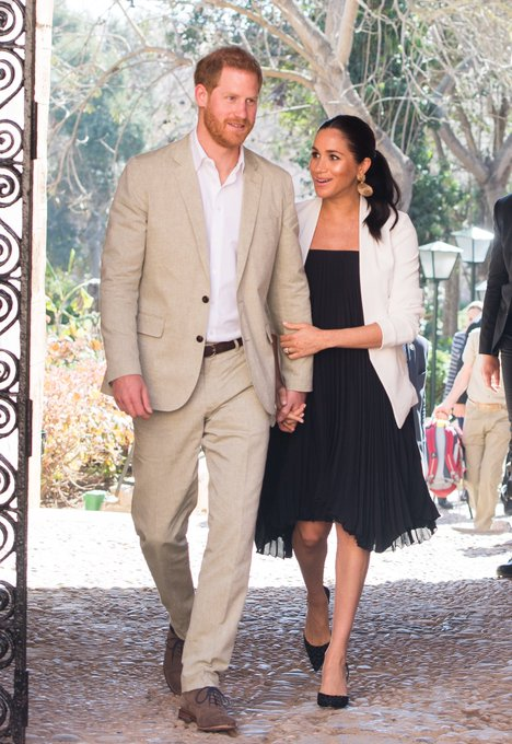 HRH Prince Harry - HRH Meghan Markle - Discussion  - Page 29 D0QxIYHUwAAH_6c