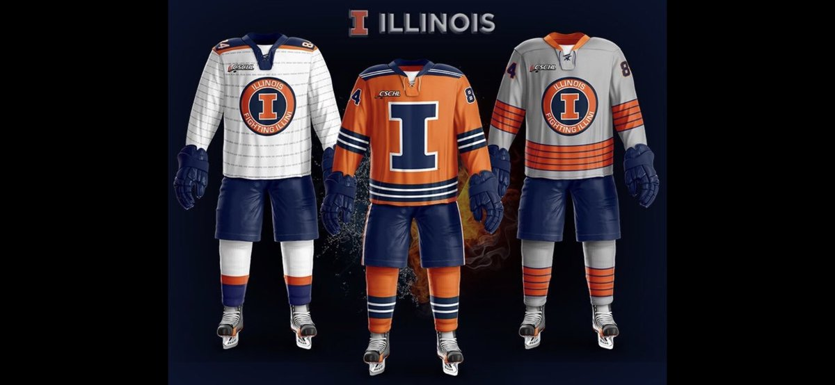 big sale 17a18 2e3c3 Illini Hockey on Twitter: