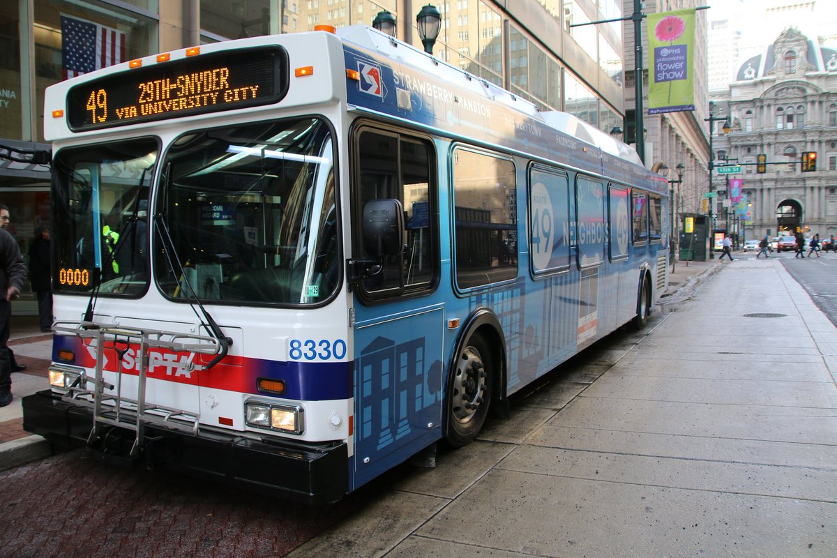 Say hello to @SEPTA's new Route 49! https://bit.ly/2EeoLmj