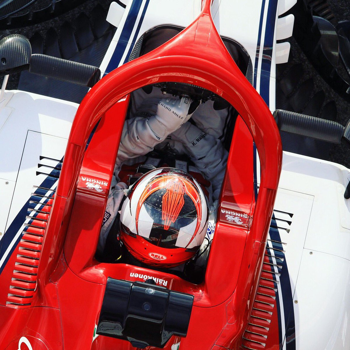 Kimi will be back in the office for day 2&4, week2 #F1testing #kimi #kimi7 #kimiraikkonen #iceman #Bwoah #sauberf1 #sauber  #AlfaRomeoRacing #SauberMotorsport #AlfaRomeoSauberF1Team @alfaromeoracing  @Circuitcat_eng #F1testdays #f1testdays2019 #Formula1 #F1 @f1 #cmoref1 @CMoreF1