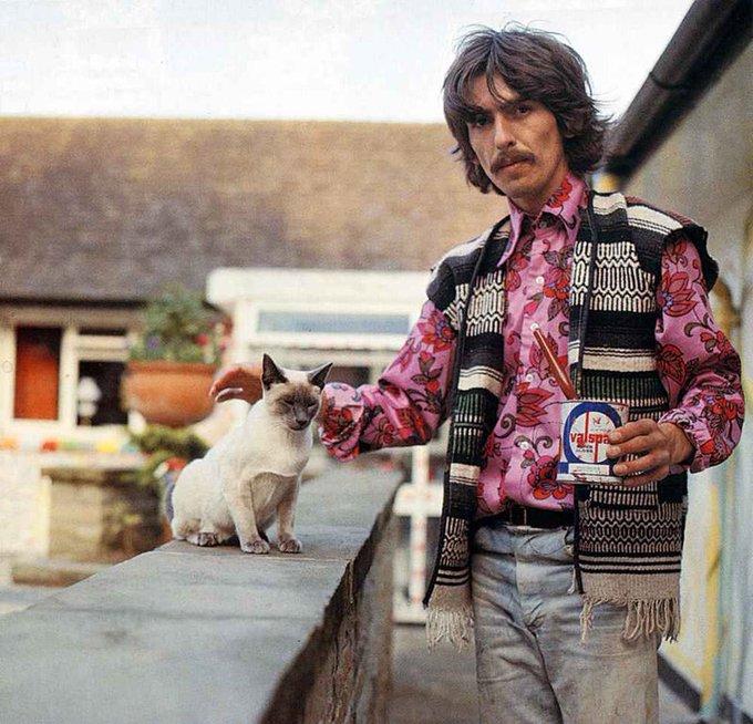 Happy birthday, George Harrison.