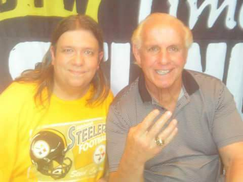 To be the man ya got to MEET the man! Happy birthday Ric Flair