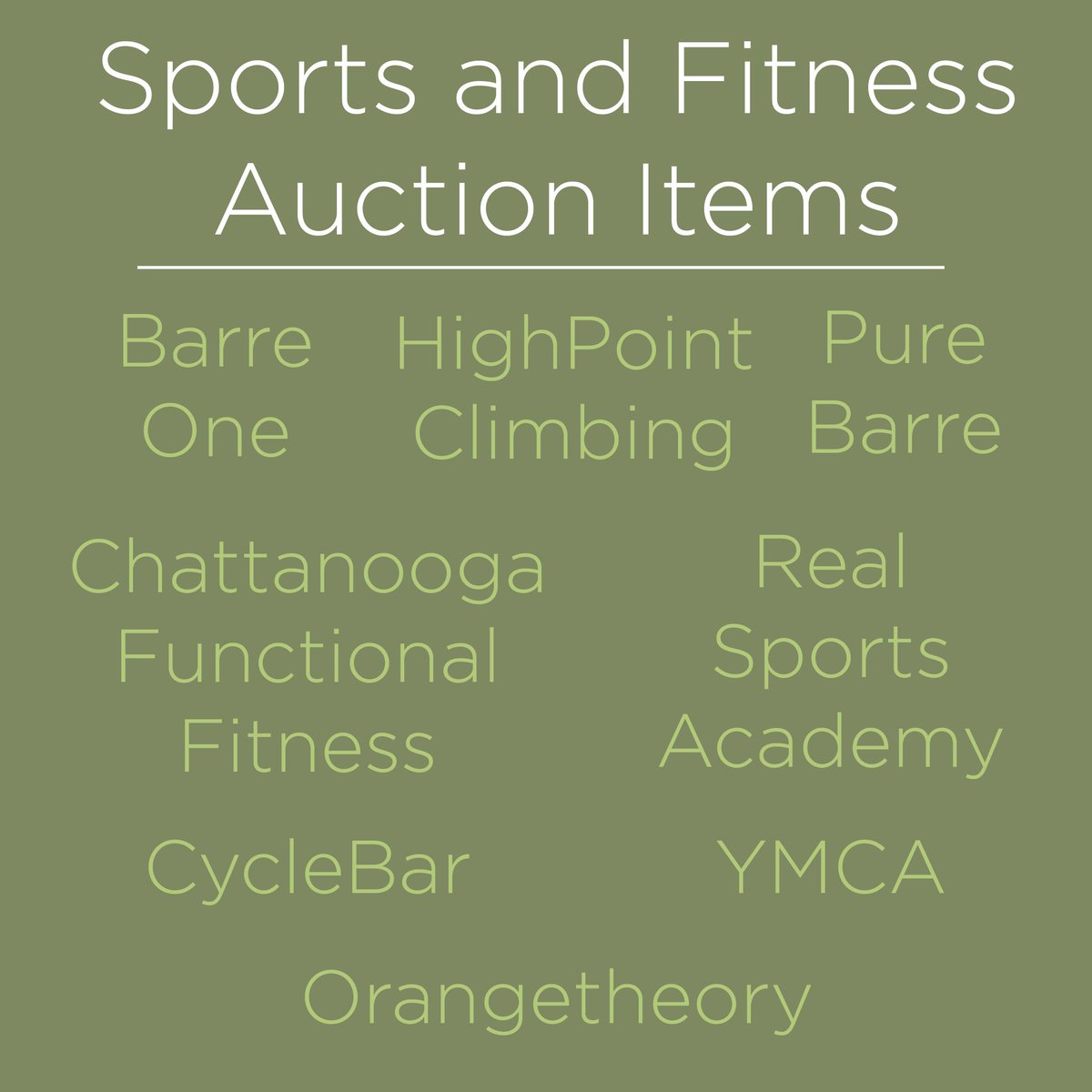 Austin Hatcher Foundation On Twitter Check Out A Few Of The Sports And Fitness Auction Items For Our 9th Annual Cellarbration Event This Friday Visit Our Website To Purchase Your Tickets Https T Co Cqbgwfmvt5