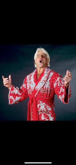 I want to say happy Birthday to the dirtiest player in the game Nature boy Ric Flair