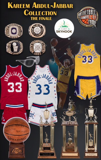 My Showtime Lakers teammate Kareem Abdul-Jabbar is selling all of his sports memorabilia from his remarkable 20-year, Hall of Fame basketball career. Items available at: https://kareemabduljabbar.com/auction/