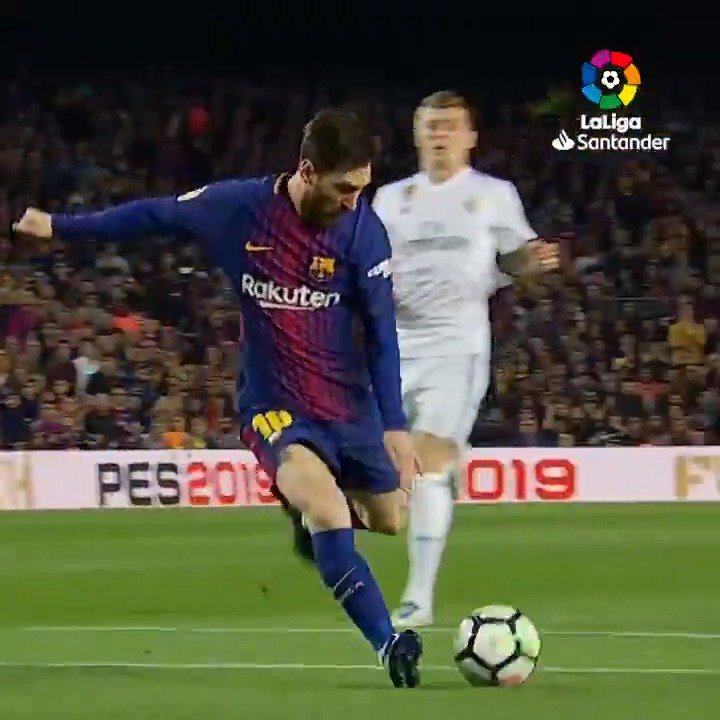 Messi + #ElClásico = 🔥