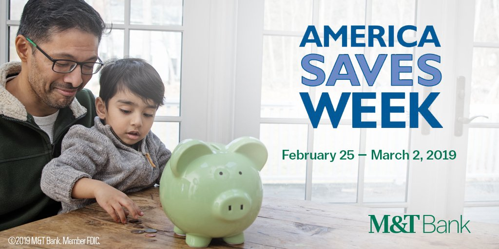 It's America Saves Week! We'll bring you tips all week to help you set a goal, make a plan and stick to it. #ASW19