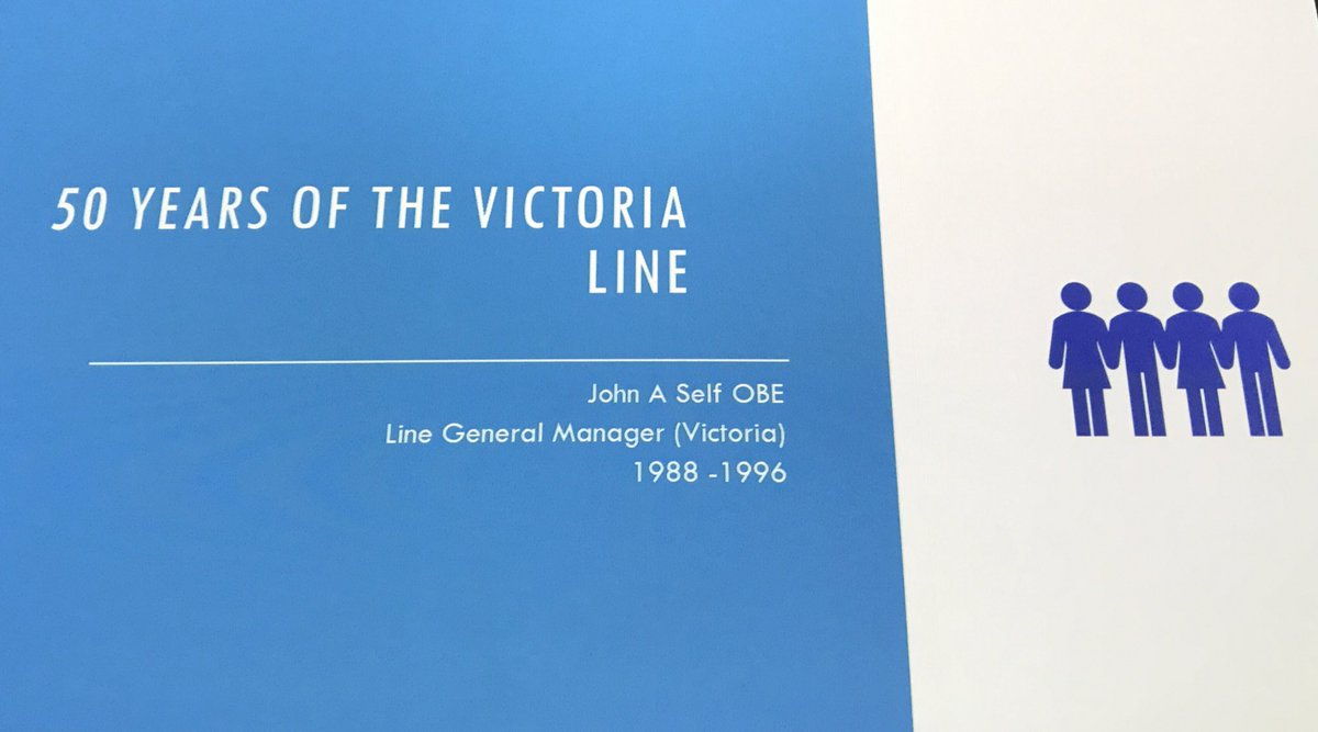 D0RTHN2XQAAtvi6 - The Victoria Line's really big 50th birthday!