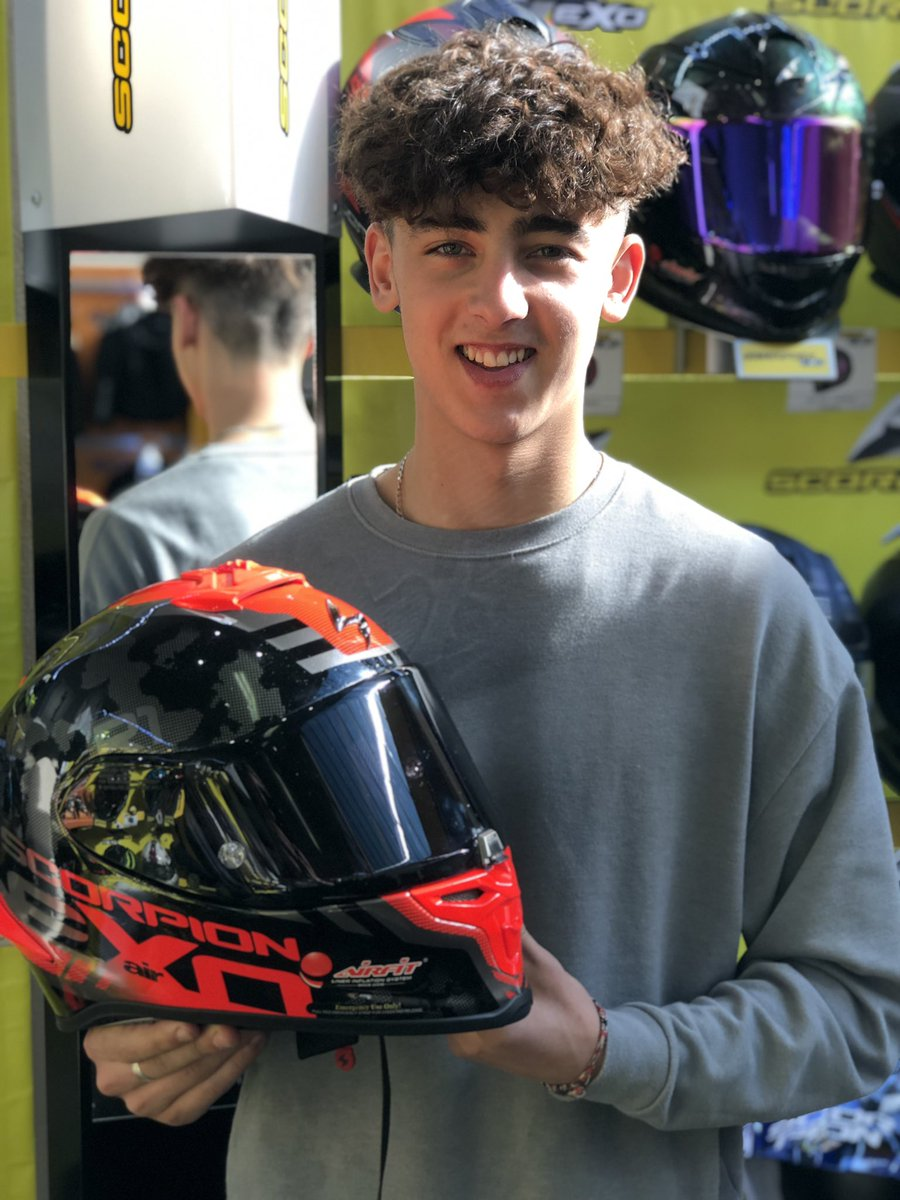 #TeamJJ Are happy to have the continued partnership with @TranAmltd #BikerHeadz supporting Jack's British GP2 season at #BSB2019 with top quality race equipment #JJ55  #TranAm #scorpionEXO #Racer #Falco<br>http://pic.twitter.com/2iTqs3ryLB