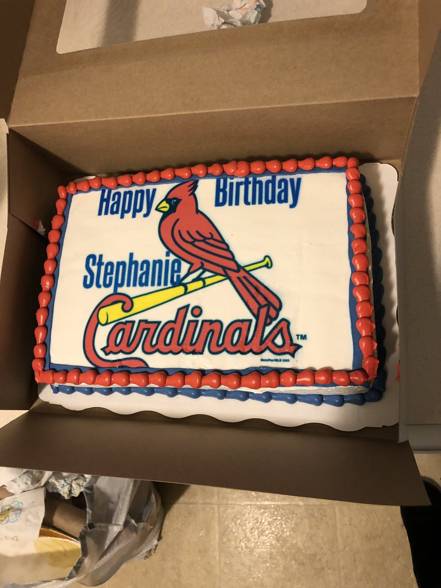 Swell St Louis Cardinals On Twitter Happy Birthday One World Series Funny Birthday Cards Online Fluifree Goldxyz