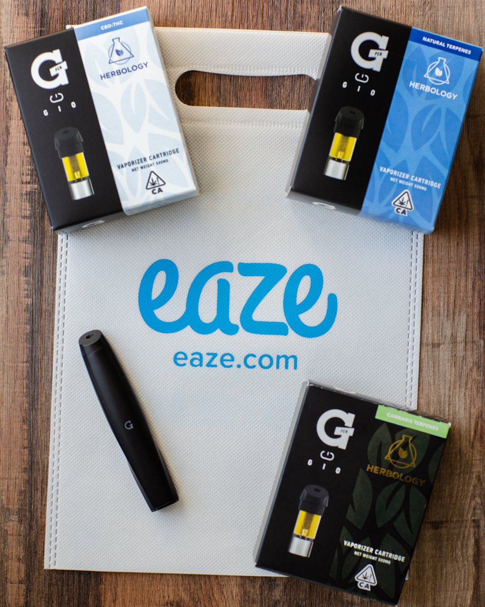 CALIFORNIA! Buy any Herbology cartridge delivered by @Eaze and get a