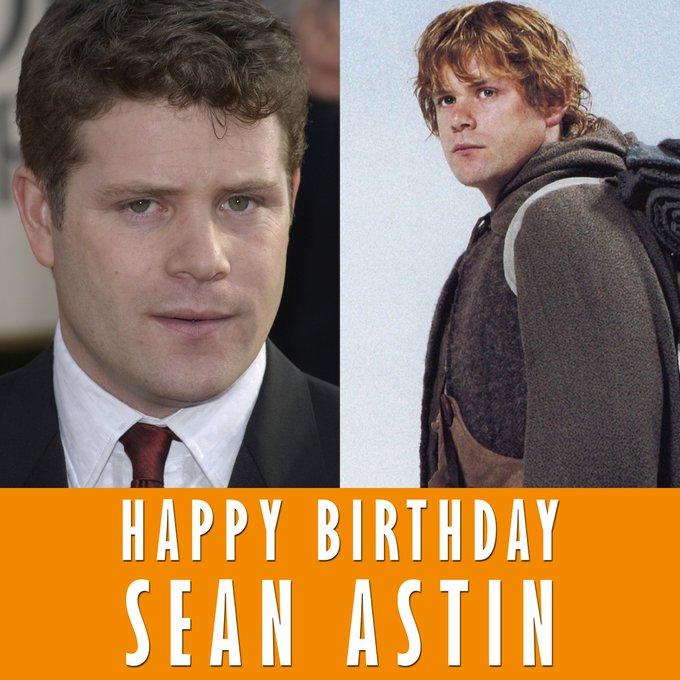 Happy Birthday to Samwise Gamgee himself, Sean Astin!