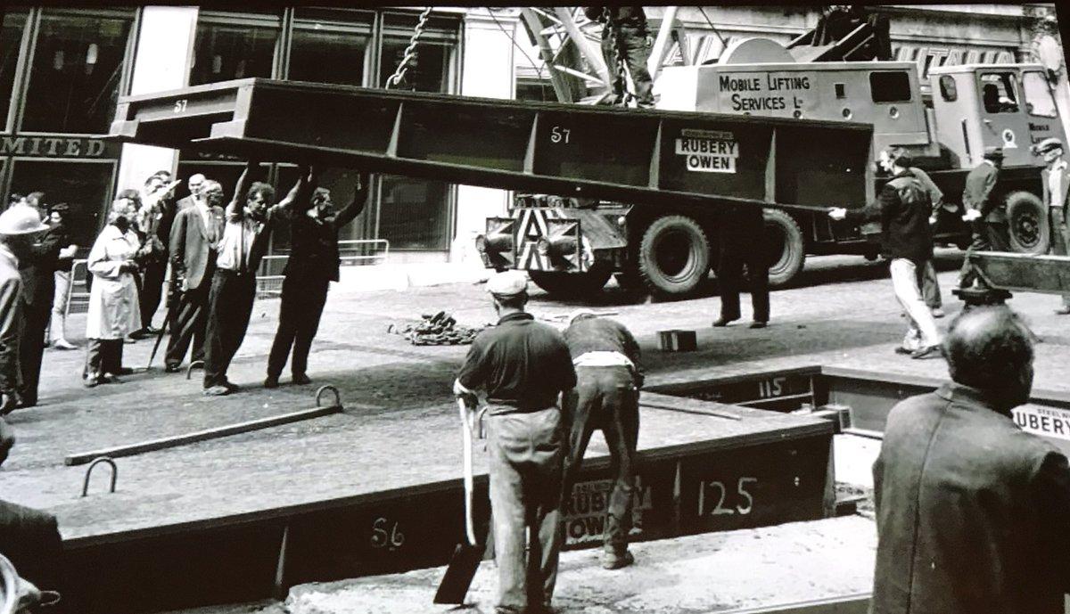 D0RaSy7XgAAZF4y - Construction Of Oxford Circus Station 1962-69 #2