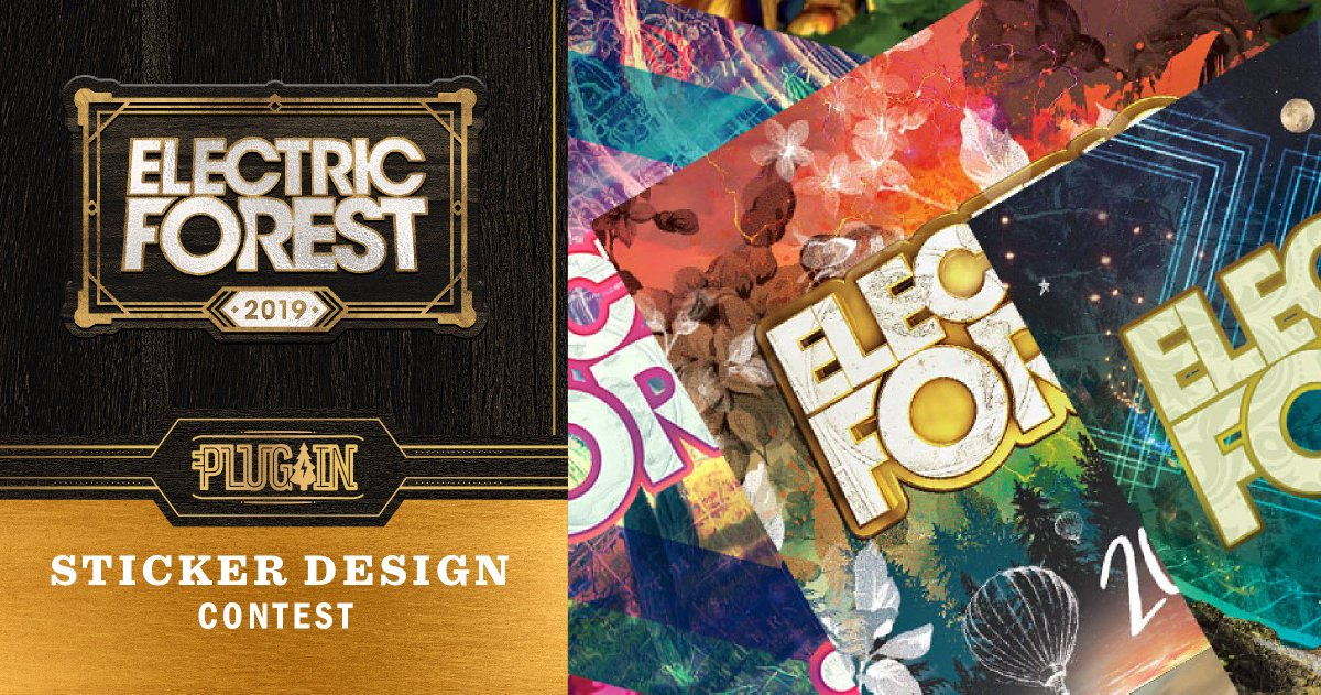 Plugintoef Electricforest Vote For Favorites Or Submit A Unique Design Today Http Electricforestfestival Pare Plug In Sticker