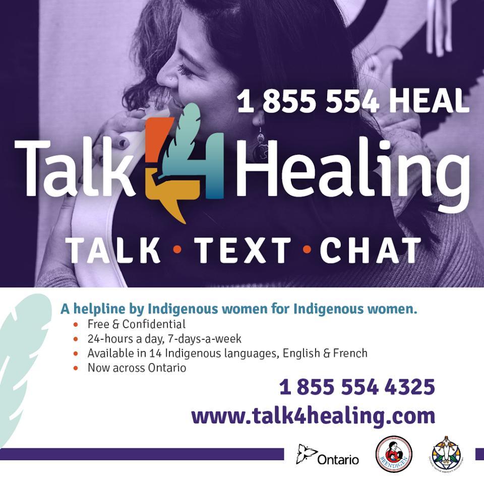 talk4healing hashtag on Twitter