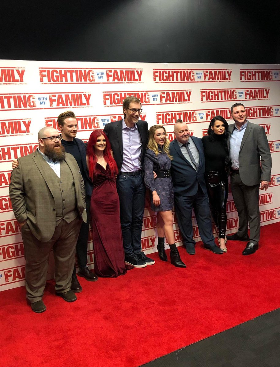 That's a wrap from tonight's UK premiere of #FightingWithMyFamily! 👊 See it in cinemas Wednesday!