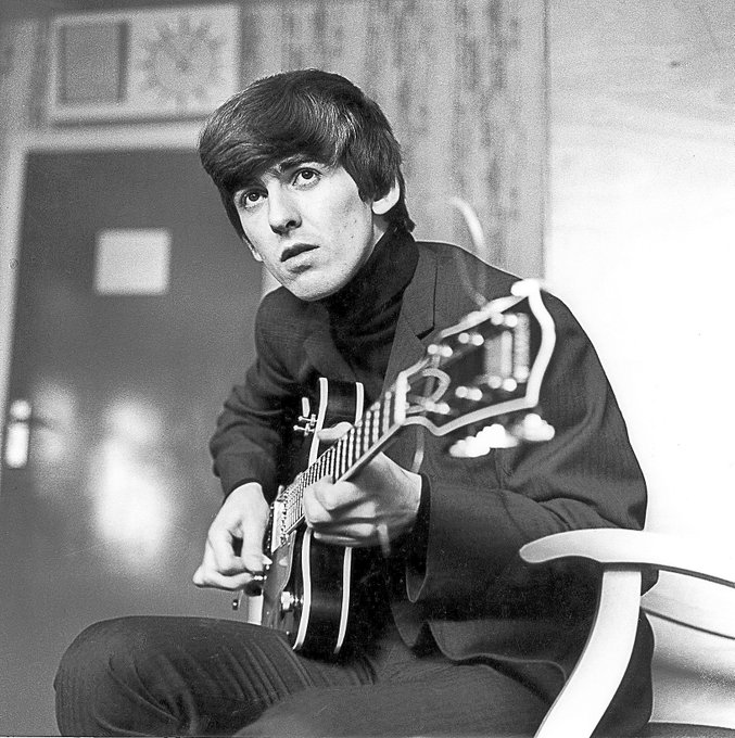 Happy birthday to George Harrison! He was born today in 1943.