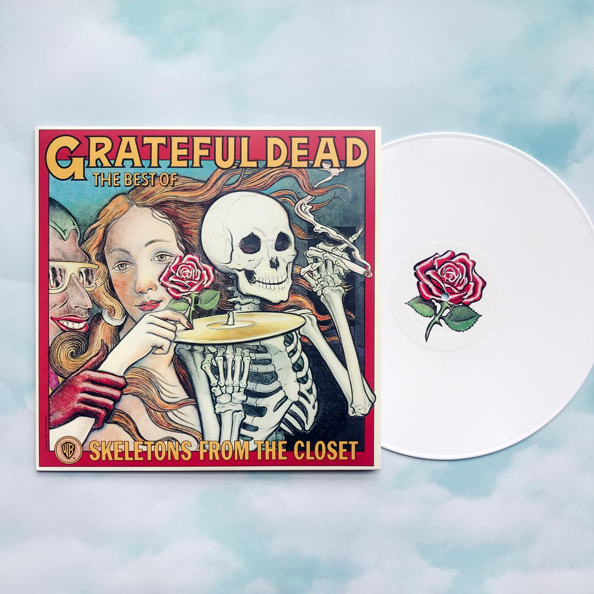 Grateful Dead On Twitter A Limited Edition White Lp Of