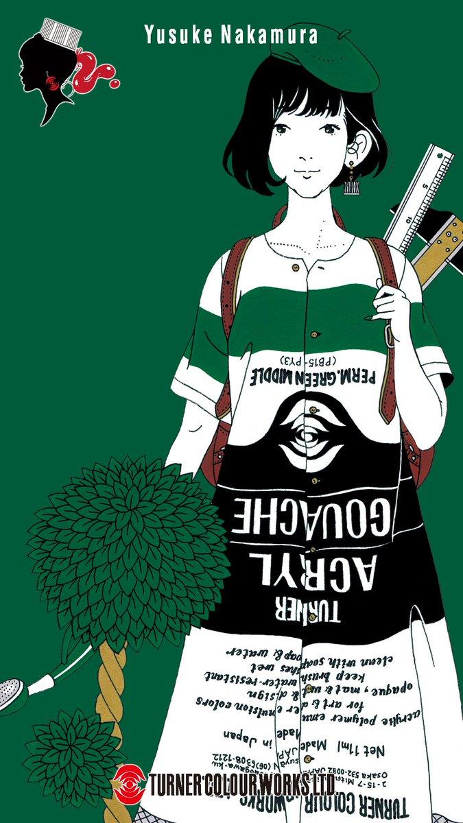佐川田宏美 No Twitter スマホの壁紙を中村佑介さんのこのイラストに変えました アジカンの ソルファ のジャケットで初めて見て以来 ずっと 中村さんの作品のファンです 中村佑介 壁紙