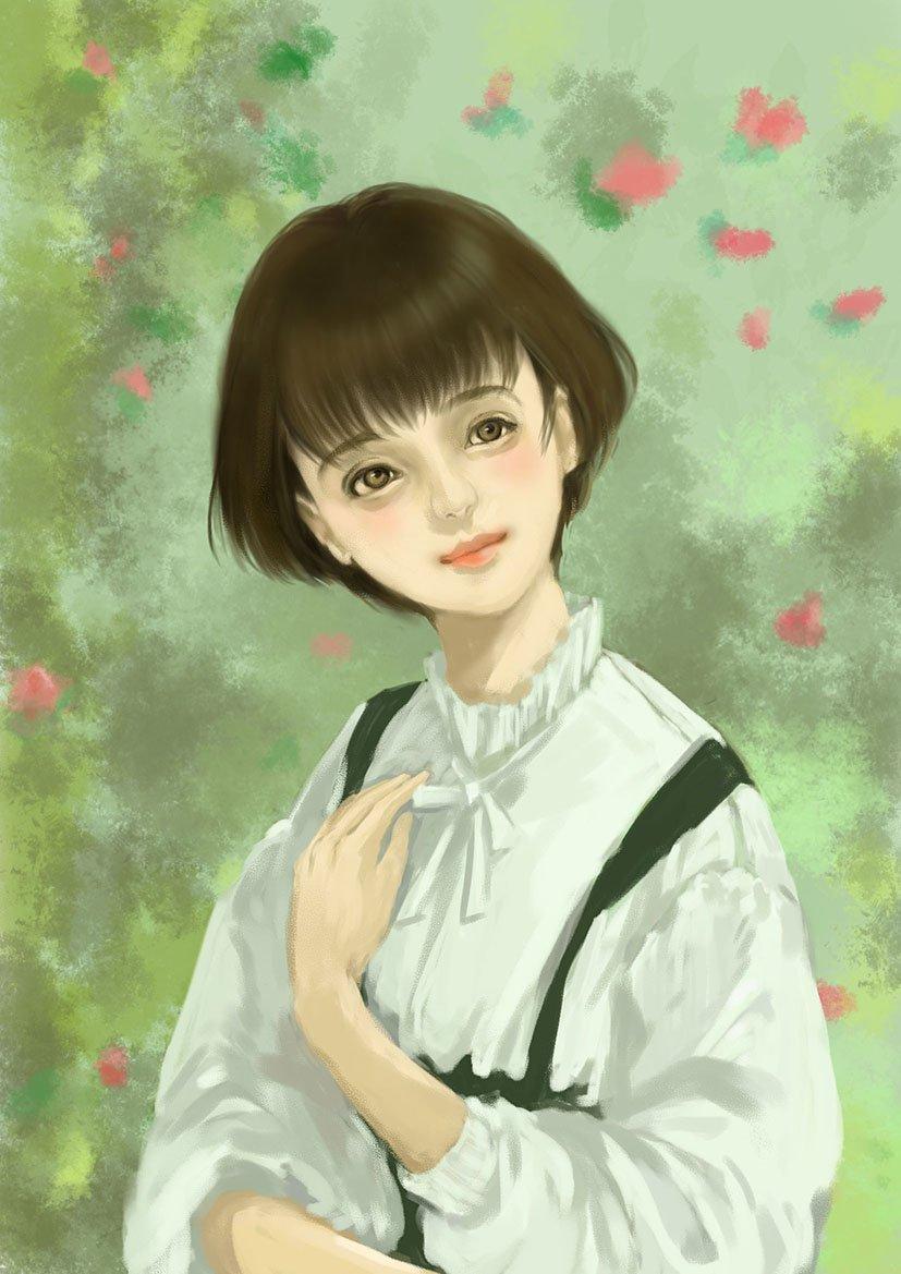 春よこい スケッチ Illustration Drawing イラスト 女性