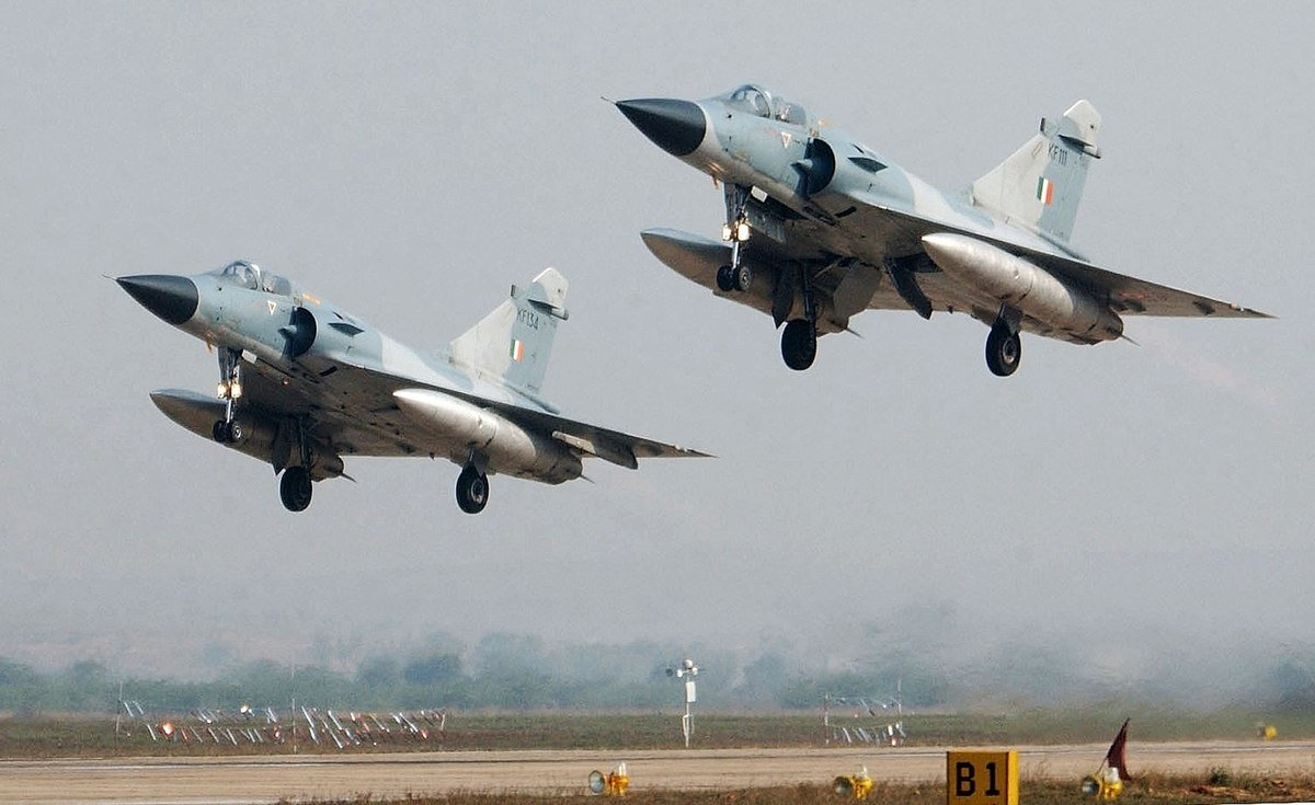 Indian Fighter Jets Drop 1000 Kg Bombs At Terror Sites In Pakistan