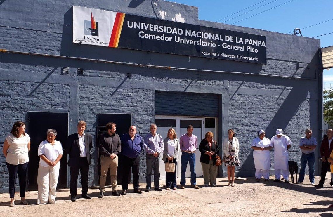 #UNLPam | Se inauguró el nuevo Comedor de #GeneralPico