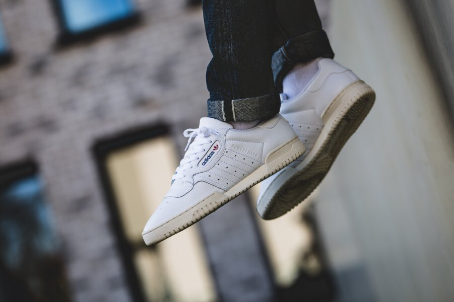 On foot look at the adidas Powerphase