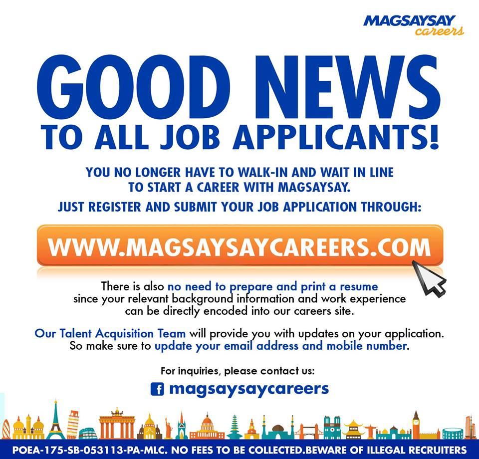 Magsaysay Careers (@MagsaysayCareer) | Twitter