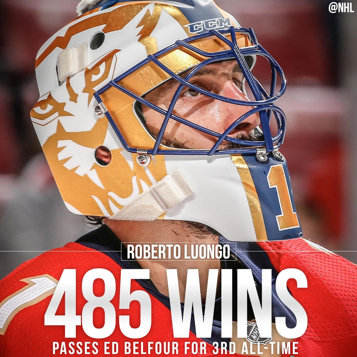 Nhl On Twitter 485 Wins For Strombone1 No 3 All Time